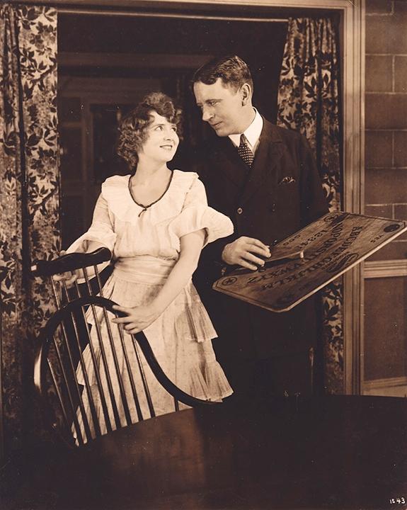 1921 Straight is the Way movie Ouija board