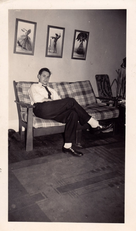 1940s Lee Ouija family photo