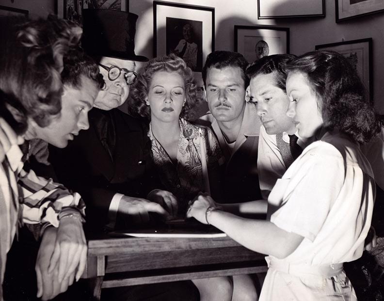 1942 Gene Lockhart Ouija board