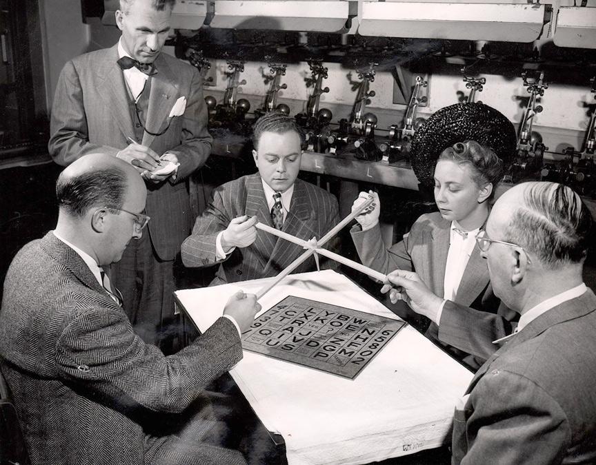 1947 Metacom Press photo ouija
