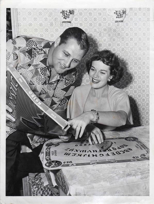 1949 Ouija Janis Paige Frank Martinelli