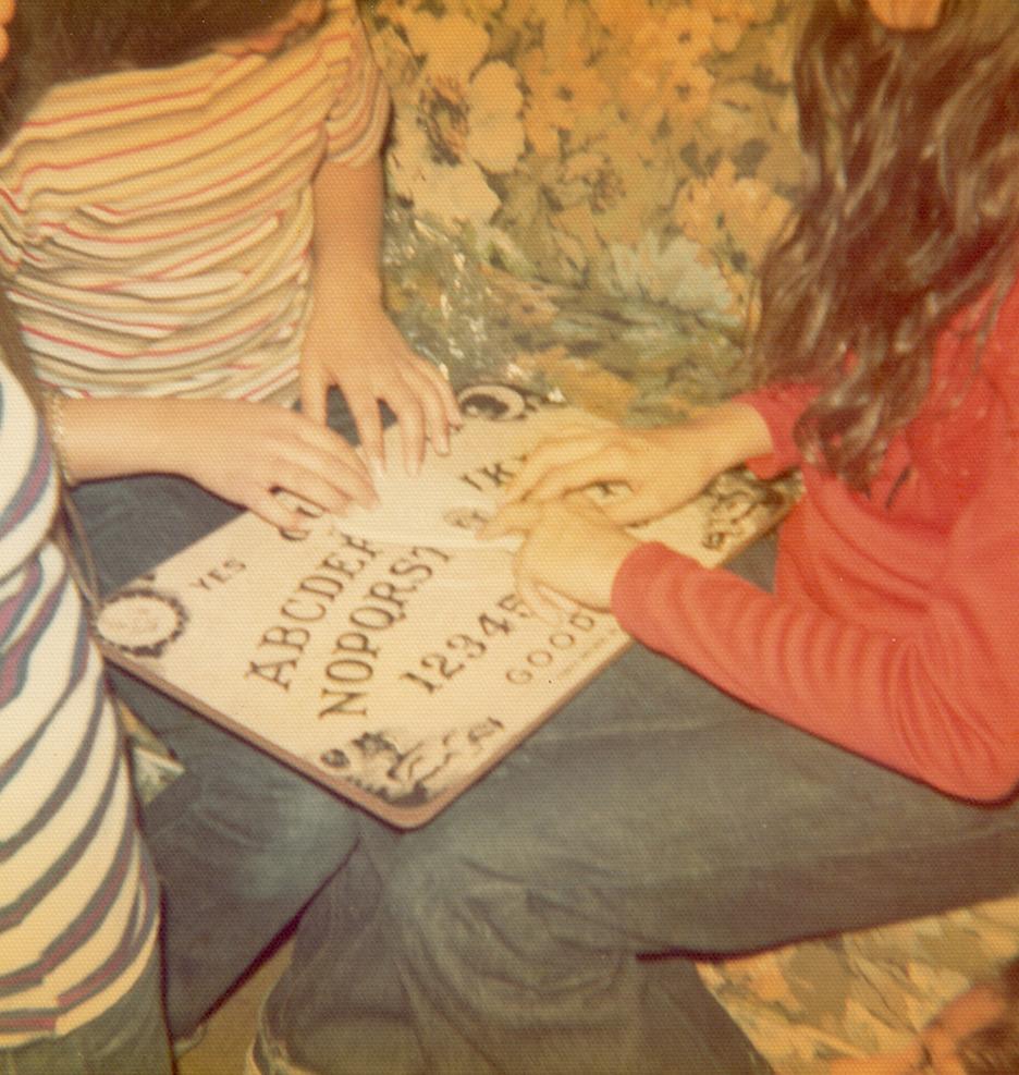 1970s Girls Playing Ouija