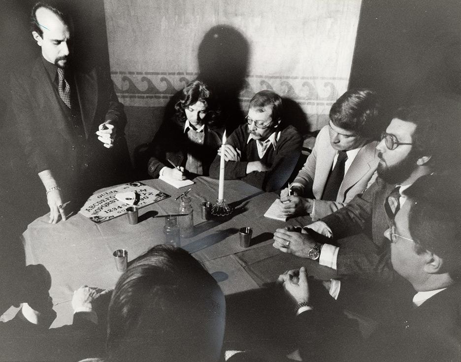 1978 Plain Dealer Houdini Seance Ouija Press Photo