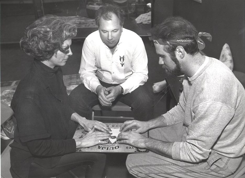 1990 Chattahoochie Folk Festival Ouija Press Photo