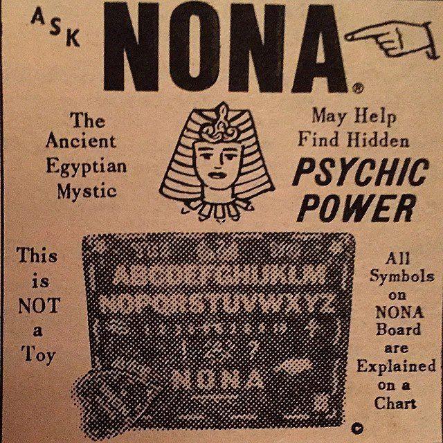 Ask Nona Board